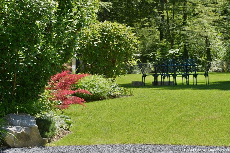 17 meilleures id es propos de bordure pierre sur for Amenager jardin rectangulaire