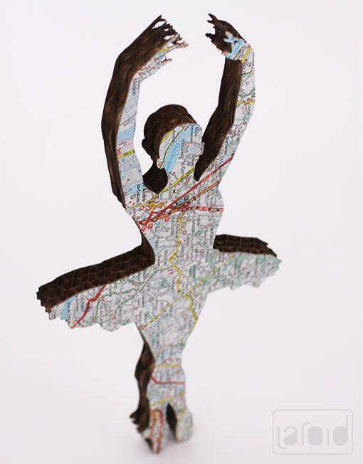 #Laroid // #Products of Laroid // #handmade #Ballerina #Cardboard #holland #Rotterdam #freepeople