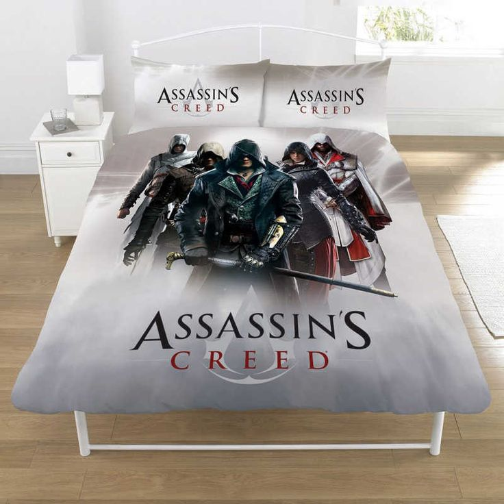 Assassins Creed Montage Double Duvet Cover Set £27.25 Free UK Delivery
