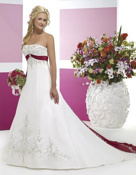 New White Wedding Dress Gorgeous Bridal Gown Stock Size 6 8 10 12 14 16 18 | eBay