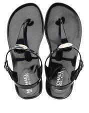 Zwarte Michael Kors kinderschoenen Jelly Hailey sandalen