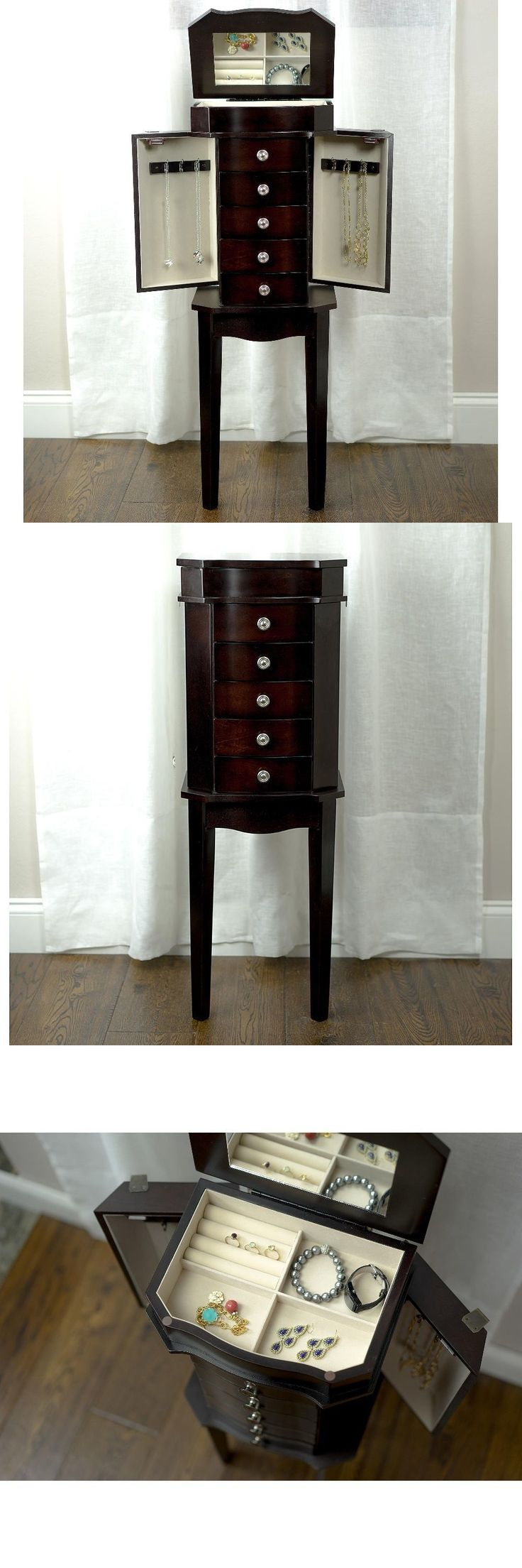65 best Jewelry Armoire Boxes and Vanities images on Pinterest
