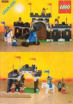 lego 6059 knight 39 s stronghold 1990 flashin back to. Black Bedroom Furniture Sets. Home Design Ideas