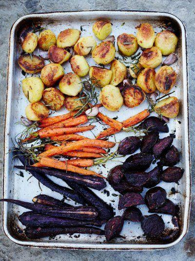 Honey Roast Vegetables | Vegetables Recipes | Jamie Oliver Recipes