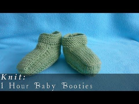 Easy Baby Booties Knit Pattern-Let Nothing Stop You