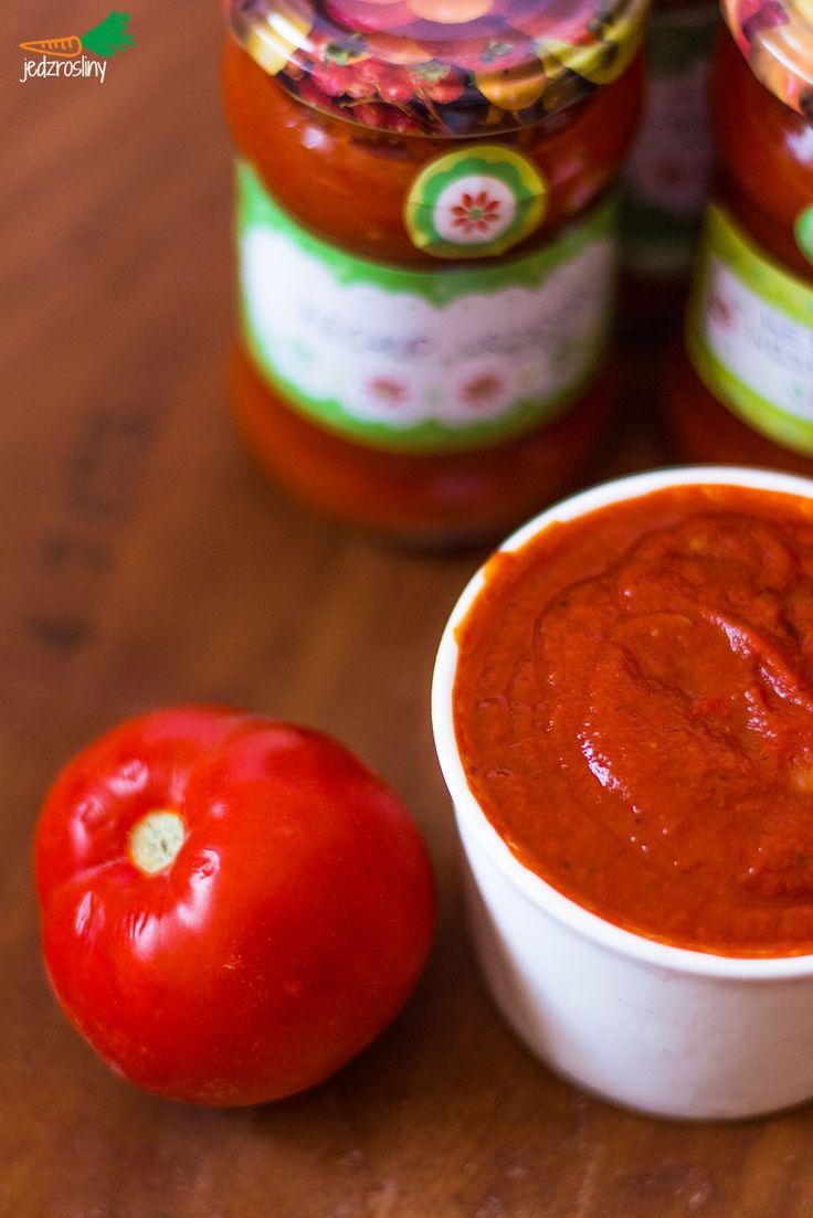 JEDZ ROŚLINY: domowy ketchup