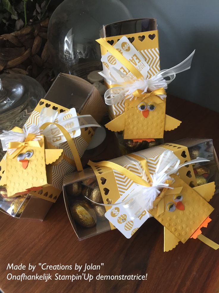 Creations By Jolan Stampinup Easter Treatseaster Gifts