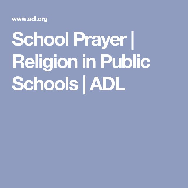 prayer in the public schools Parents should feel comfortable sending their children to public schools and not fear that they will be preached to or forced to pray according to someone else's faith tradition students may engage in truly voluntary prayer, may read the bible in a non-disruptive way and may form religious clubs that meet after school—but it.