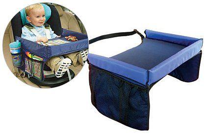 Dětský stoleček nejen do auta - Vaše dítě bude mít vše po ruce. aff#