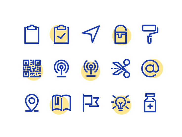 Random icons from a set that can be found on iconfinder: http://www.iconfinder.com/iconsets/minimal-set-six  Behance · Twitter · Iconfinder · Creative Market