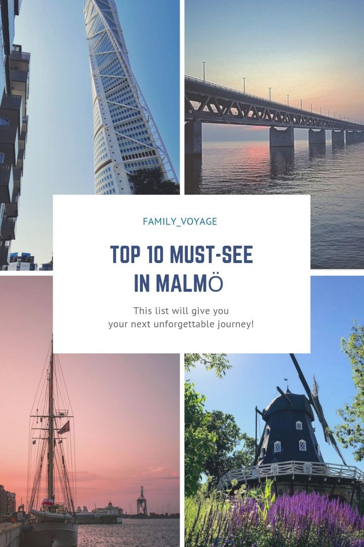 Travel must-see in Malmö, Sweden
