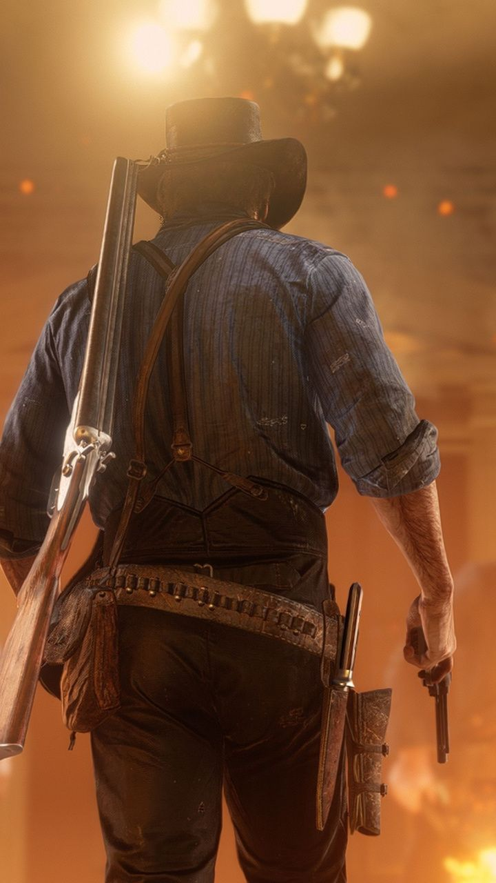 Red Dead Redemption 2 Video Game Game 720x1280 Wallpaper