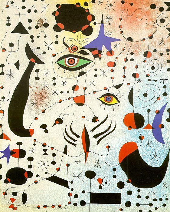 Codes & Constellations dans l'amour d'une femme: Joan MIRO