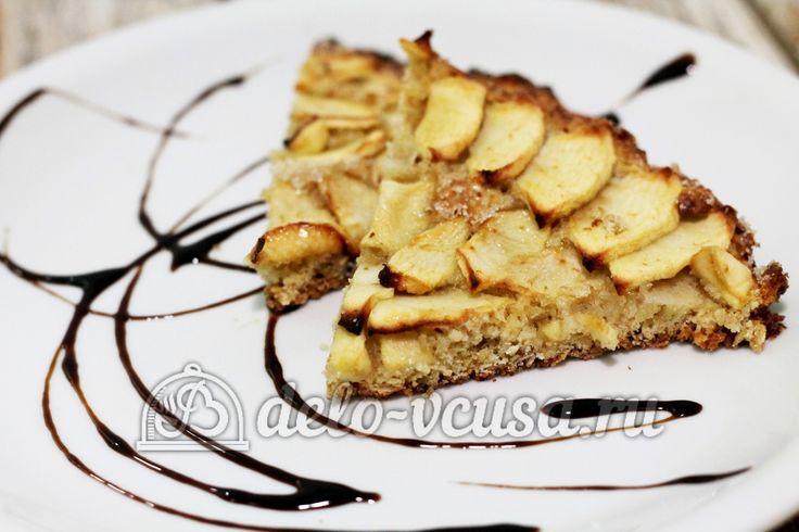 Овсяный пирог с яблоками #овсянка #пироги #яблока #яблочныйпирог #сладкаявыпечка #рецепты #деловкуса #готовимсделовкуса