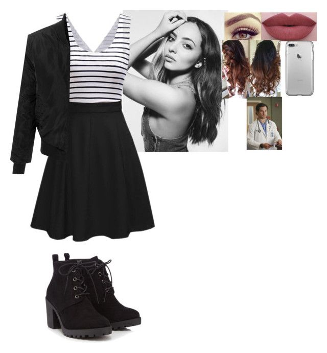 """""""Jade's Outfit for the Dinner Party"""" by the-walking-dead-and-wwe-lover ❤ liked on Polyvore featuring LE3NO and Red Herring"""