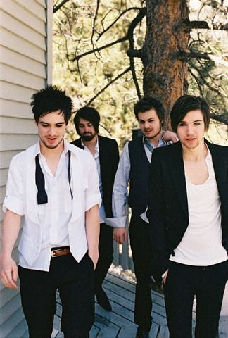 Panic! At The Disco. I've been obsessed with their music lately. I listen to one of their songs everyday. I love them.☺❤