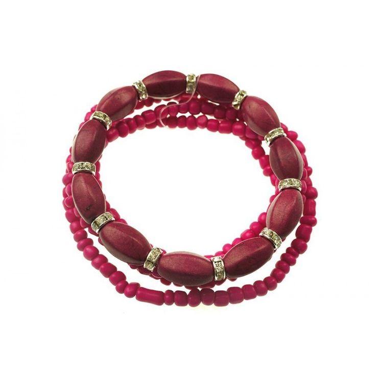 Hot Pink Bracelet