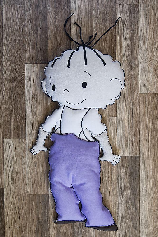 Poduszko - maskotka Lolek #maskotka #poduszka #dziecko #przyjaciele #bajka #bolek #lolek #tkanitka