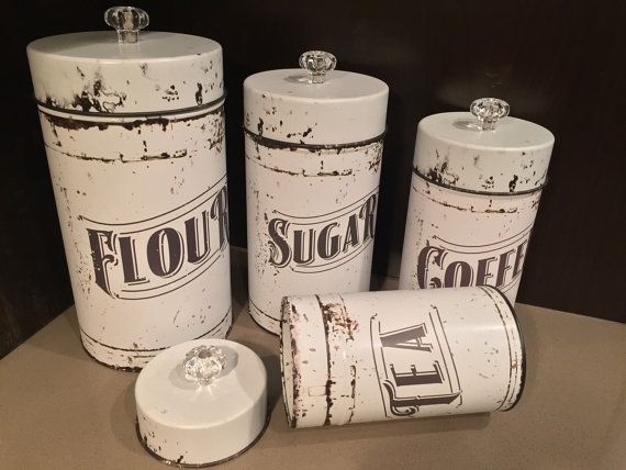 25 best ideas about tea coffee sugar canisters on. Black Bedroom Furniture Sets. Home Design Ideas