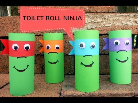 15 Awesome Toilet Paper Roll Crafts for Kids – Eas…