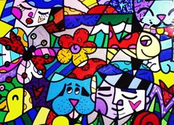 """From the Britto Garden"" by Romero Britto"