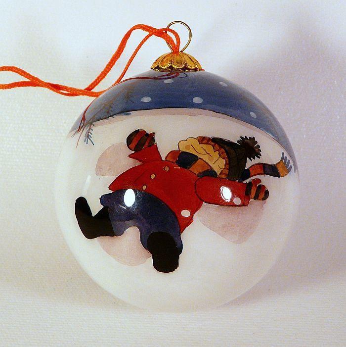 Polish Christmas Ornaments Glass