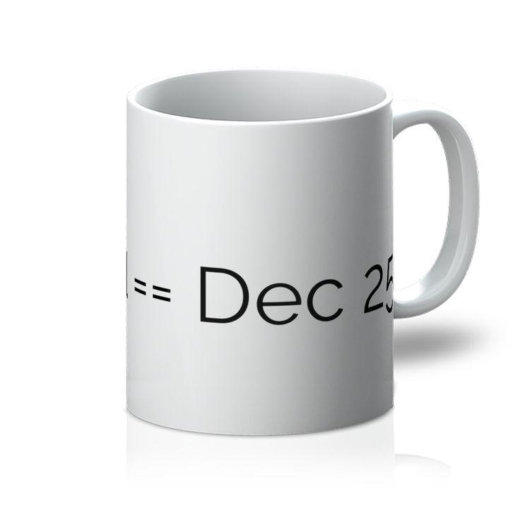 Oct 31 Dec 25 Mug