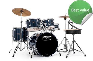 "Mapex Tornado Starter Drum Kit Blue 18"" Compact / Junior Set"