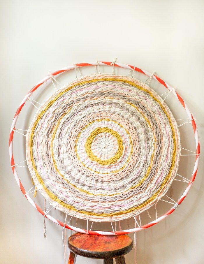 Best 25 Hula Hoop Weaving Ideas On Pinterest Rug Tee Shirt And T Rugs