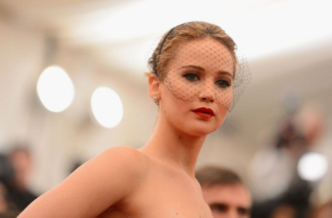 Jennifer Lawrence at the Met Ball, 2013