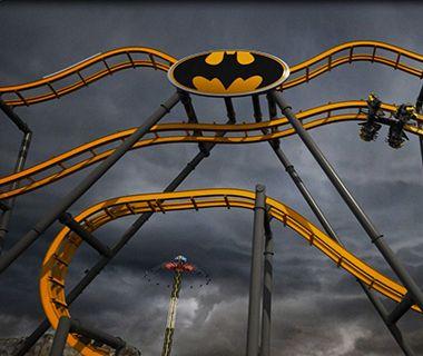 World's Coolest New Tourist Attractions 2015: Batman: The Ride, Six Flags Fiesta Texas, San Antonio, TX