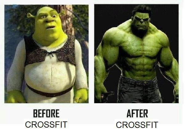 Before And After Crossfit Men