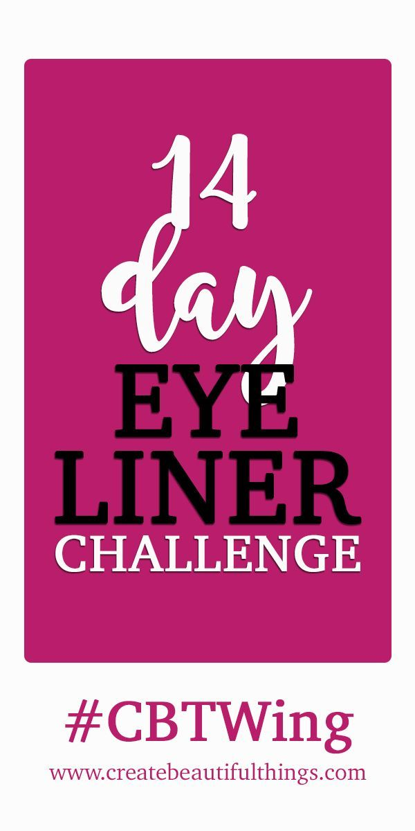 14 Day Wings Challenge To Improve Your Eyeliner Skills! Be Part Of It!