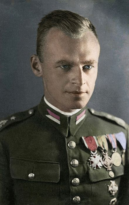 Witold Pilecki was a Polish soldier and founder of the Secret Polish Army resistance in German-occupied Poland 1939 and a member of the underground Home Army. Pilecki volunteered for an undercover operation to be imprisoned at Auschwitz concentration camp. Witold's intelligence reports enabled the Polish government-in-exile to convince the Allies that the Holocaust was taking place. He later escaped Auschwitz, and took part in the Warsaw Uprising. In 1948 he was executed by the Soviets.