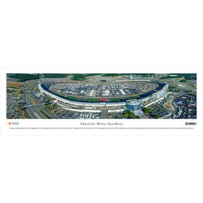 BlakewayPanoramas NASCAR Charlotte Motor Speedway by James Blakeway Photographic Print