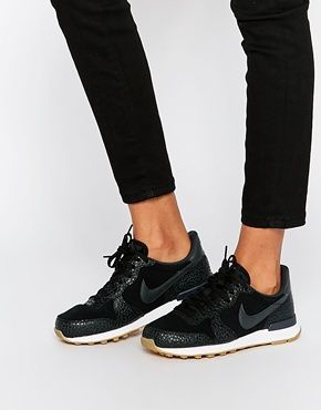 Nike - Internationalist Premium - Baskets - Noir