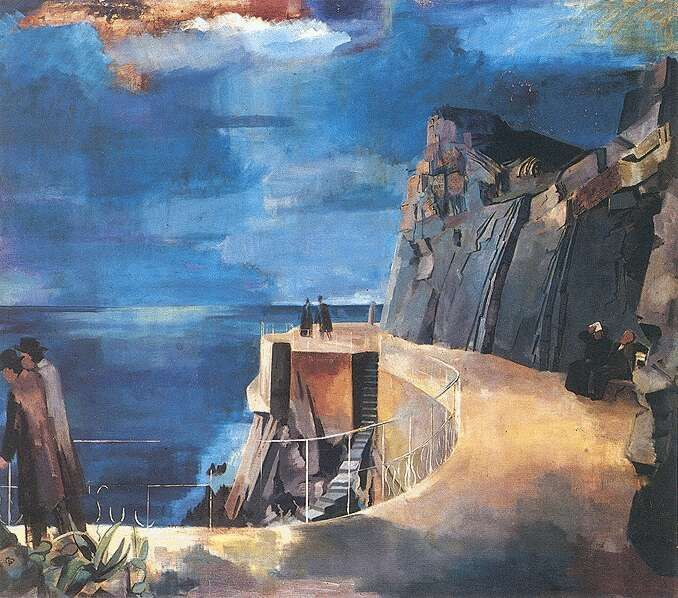 Bernáth Aurél: Riviéra, 1926-1927   Magyar Nemzeti Galéria, Budapest
