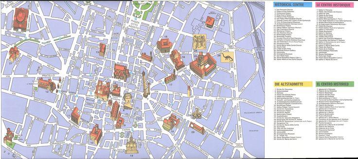 Bologna city map