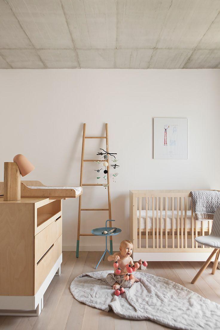 Une #chambre pour #bébé #nature http://www.m-habitat.fr/par-pieces/chambre/amenager-une-chambre-pour-bebe-2623_A