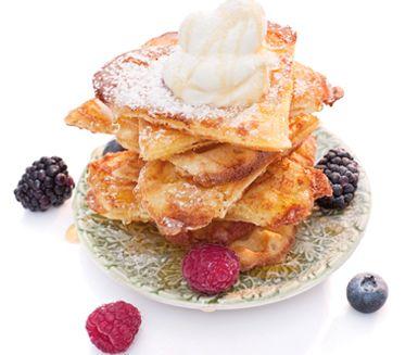 Frasiga glutenfria majsvåfflor. Recept från ICA/Buffé. #glutenfri #våfflor #celiaki