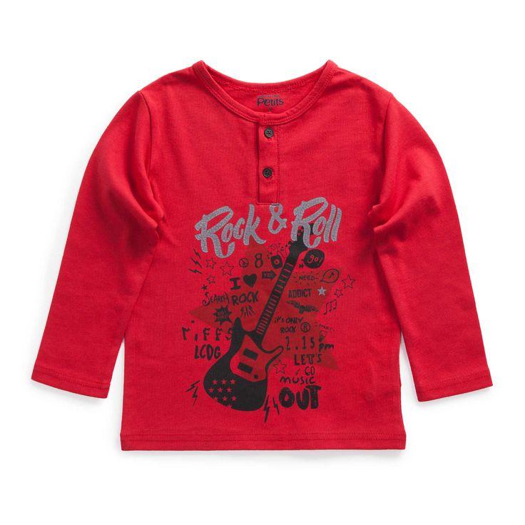 "T shirt ""Rock n' chic"""