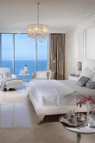 Light  Jade Beach - contemporary - bedroom - miami - DKOR Interiors Inc.- Interior Designers Miami, FL