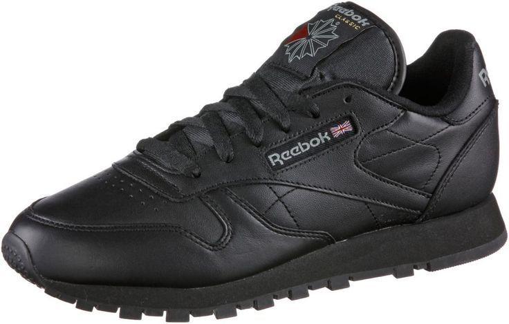 #Reebok #Classic #Leather #Sneaker #Damen #schwarz