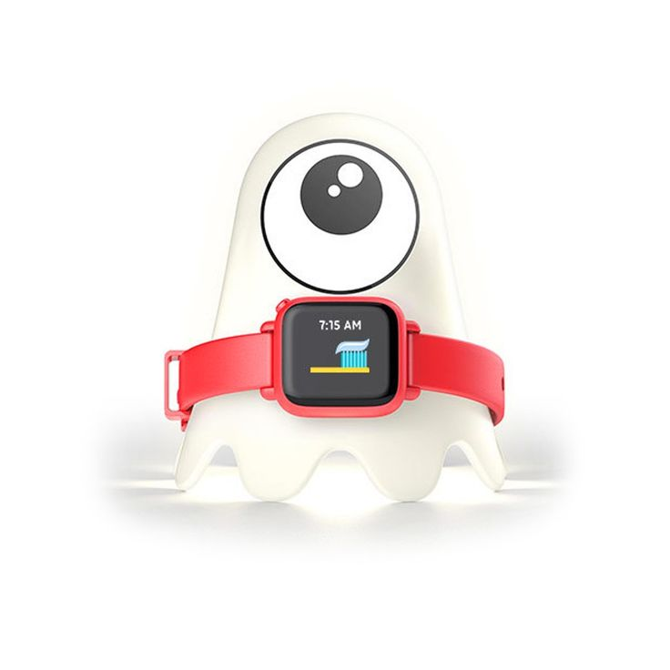 Octopus by Joy Activity Tracker - Red