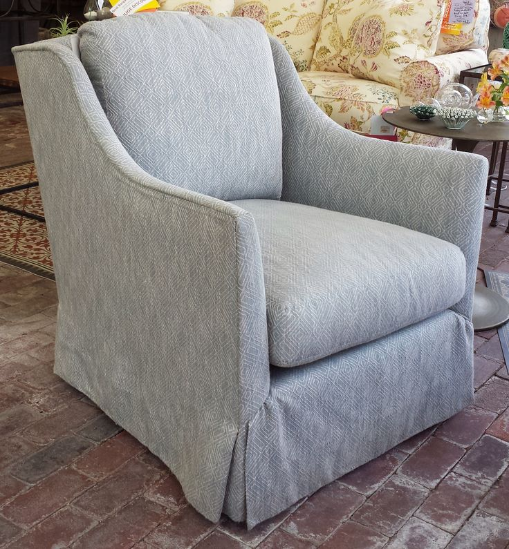 Lovely Metric Ocean Swivel Chair!