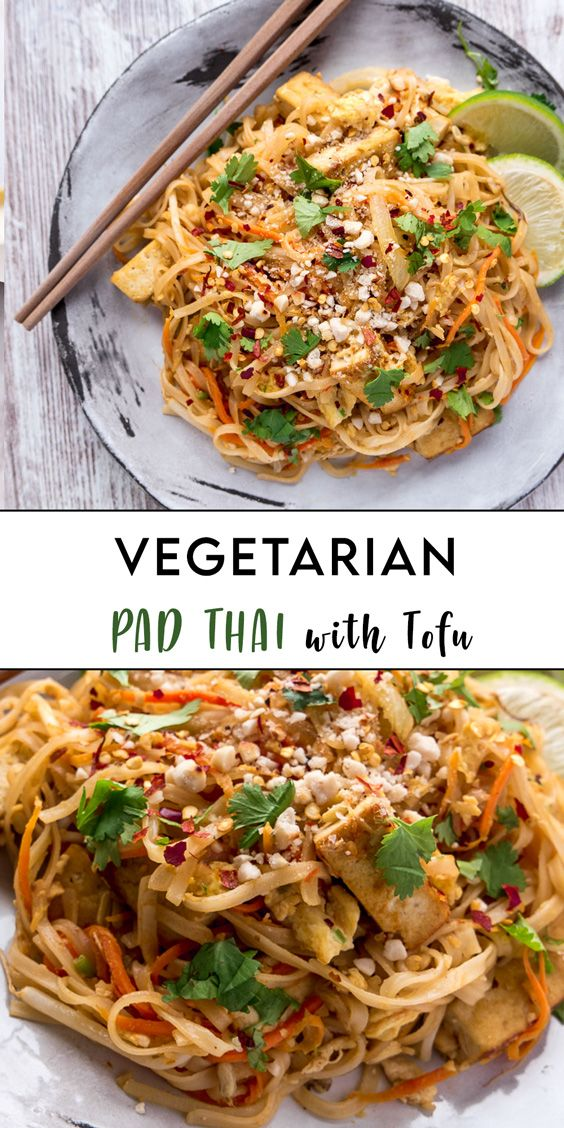 One of the best ways to make sure you are eating a delicious #Pad #Thai without fish sauce is to make it at home. It's m…