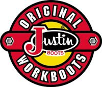 Justin Work Boots give-a-way at the Bakken Oil Vendor Expo in Minot, South Dakota