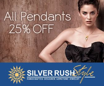 SilverRushStyle.com - ALL Pendants 25% OFF - Over 5 137 Unique Designs