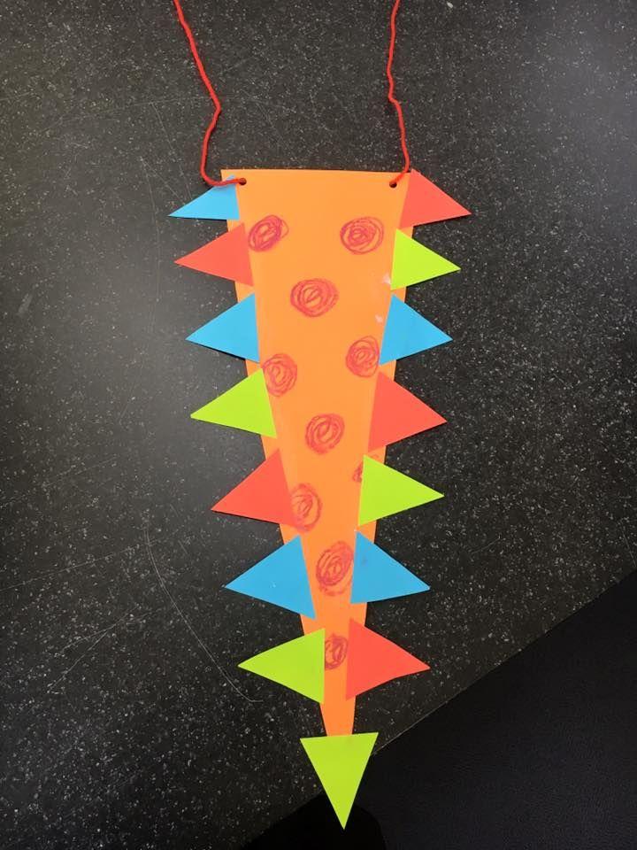 Dinosaur Tail Craft