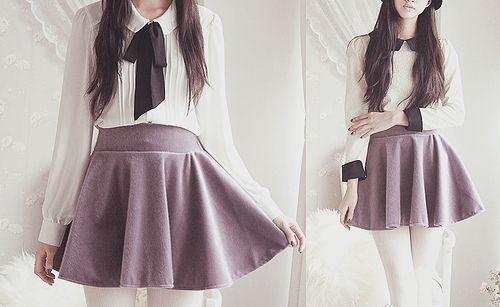 Molangg #kawaii #fashion #purple #collar